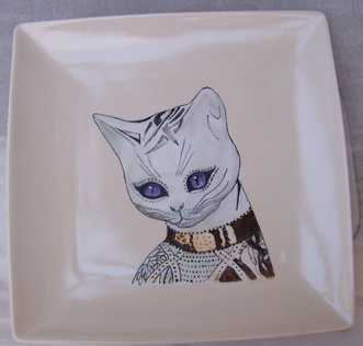 Decoluc-peintre-porcelaine-realisations: plat Monique 042018